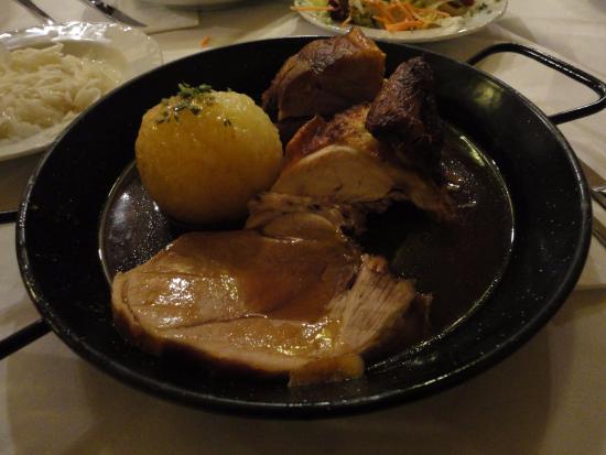 Weinhaus Neuner: 돼지고기