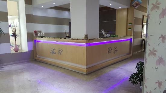 Saphir Palace & Spa: Accueil du Spa de l'hôtel