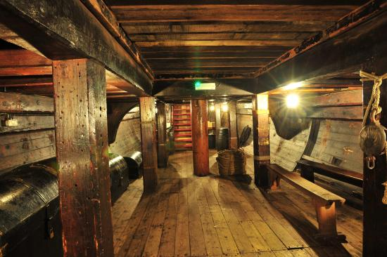 Golden Hinde: The Hold