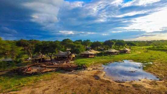 Национальный парк Хванге, Зимбабве: Somalisa Acacia Camp