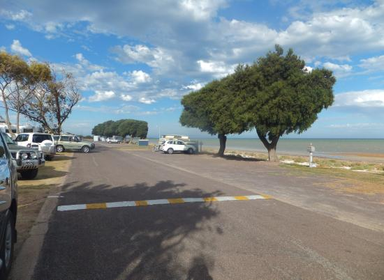 Discovery Parks - Whyalla Foreshore: View from our caravan site