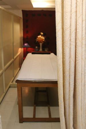 Massage rooms you