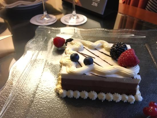 Hilton Molino Stucky Venice Hotel Birthday Cake Prosecco For 2 It Was Lovely