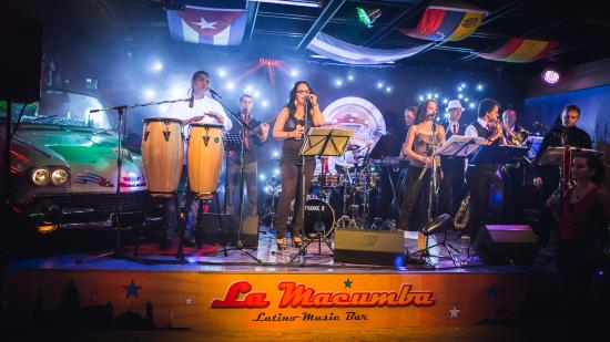 La Macumba latino music bar
