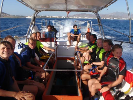 Naxos Town, Greece: snorkelling