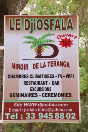 Le djiosfala lodge miroir de la teranga toubakouta for Le miroir restaurant