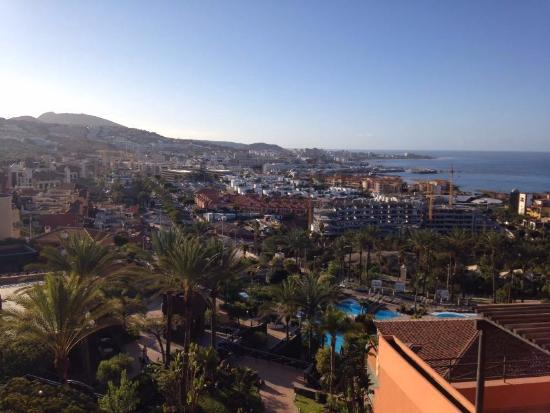 Early morning view from deluxe room 1st floor picture for Jardines del teide costa adeje