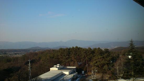 Tateshina Park Hotel: 部屋からの南アルプスの眺め