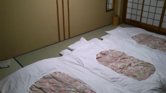 Tateshina Park Hotel: 布団