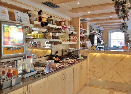Alpino Family Hotel: Merenda pomeridiana