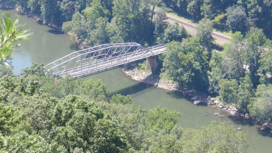 New River Gorge Bridge: Old Bridge