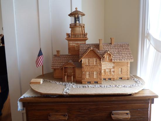 Thirty Mile Point Light This Is A Model Of The Lighthouse Inside Home