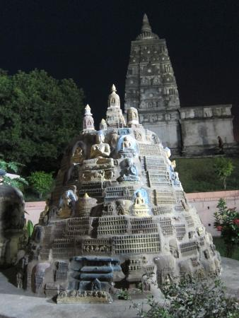 Bodh Gaya, India: Part of the temple complex