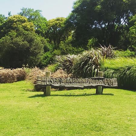 Placa da entrada do jardim fotograf a de jardin botanico for Jardin botanico costo entrada