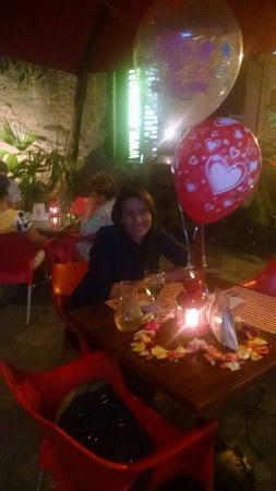 Una Linda Decoracion Para Una Cena Romantica Picture Of Biscuit - Cena-romantica-decoracion