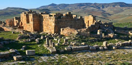 Souk Ahras Province, แอลจีเรีย: Khemissa Roman Ruins