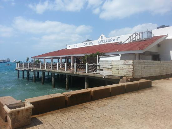 The Floating Restaurant: View from the shore