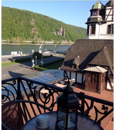 Krone Assmannshausen: Chegar no hotel Krone e chegar na Alemanha!