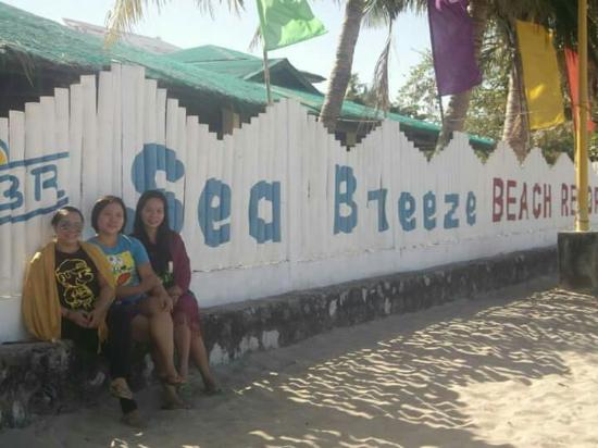 Marinduque Hot Spring: Pearl,  cecil and me