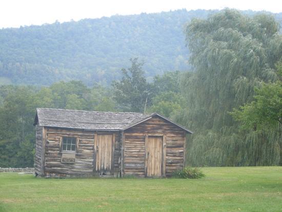 Towanda, Pensilvania: log cabin