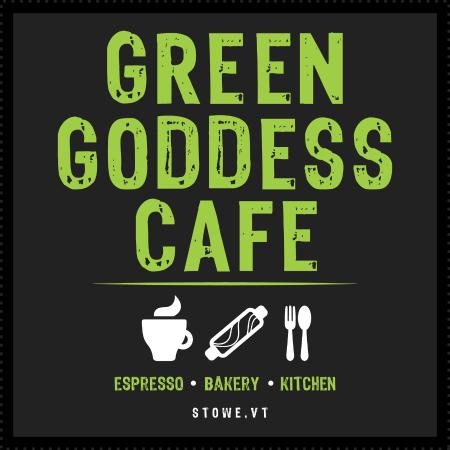 Green Goddess Cafe: Our logo!
