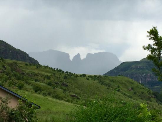 uKhahlamba-Drakensberg Park, Sydafrika: Beautiful Injisuthi!