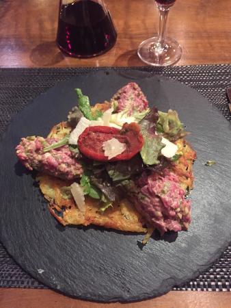 Crassier, Suiza: Exceptionnel tartare revisité !
