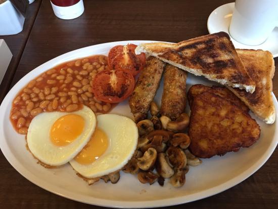 Chaplins: the big vegetarian breakfast