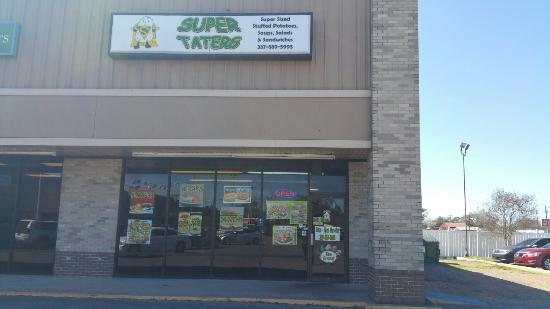 Super Taters & More!: Super Taters....where you can get your choice of 100's of baked potato combinations or hot sandw