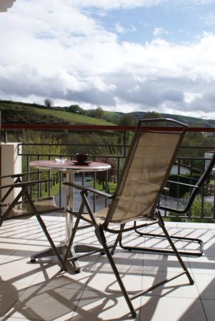 Bergara Hotel : Terrasse des chambres