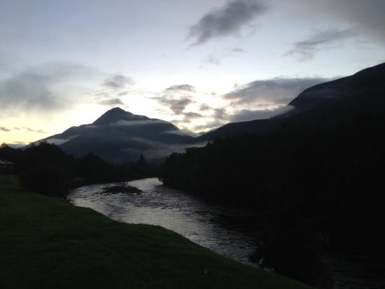 Kinlochleven, UK: View from room 2