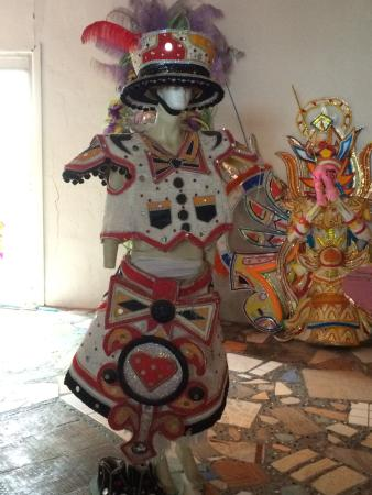 Junkanoo World Museum & Arts Centre: Competition very competitive, so didn't post more elaborate ones