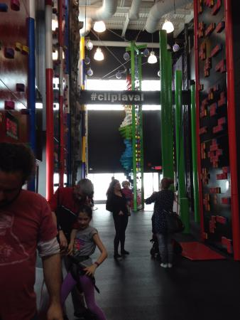 Centropolis: Climbing walls for kids in Laval Quebec Canada