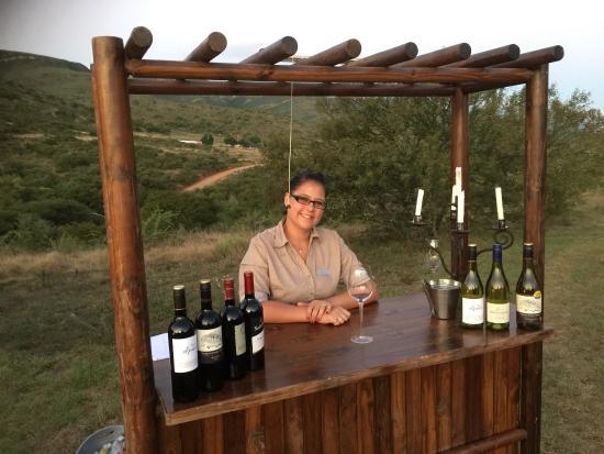 Greater Addo, Sudáfrica: Wunderbarer Abend traumhaft nette Leute mit einer Vielzahl von wunderbaren Annehmlichkeiten zum