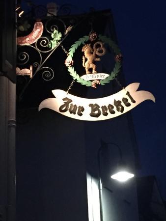Zur Bretzel