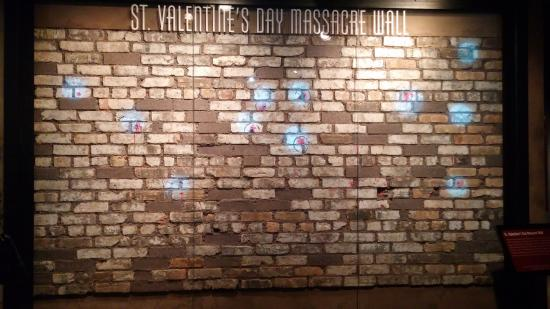 A Piece Of The St Valentines Day Massacre Wall Bild Fran The Mob