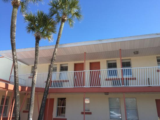 Retro look outside, beautiful & spacious remodeled rooms