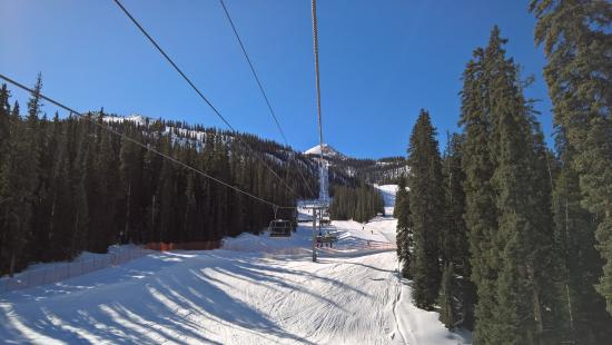 Crested Butte Mountain Resort: Heading up