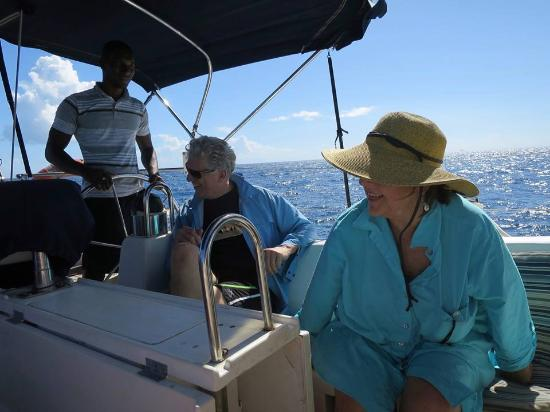 Dragonsmoke Sailing Charters - Private Day Tours: Happy Couple