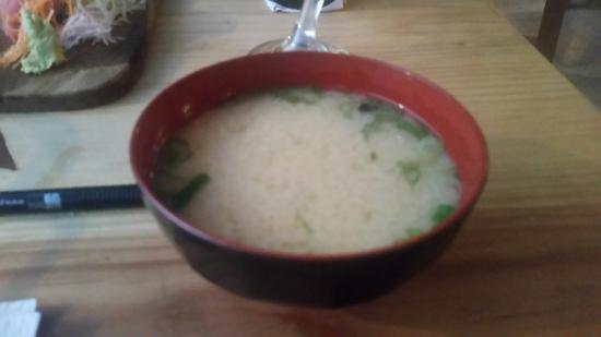 Mog Bistro: La tradicional sopa ....