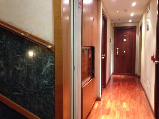 Hotel Corot: corredor