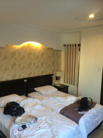twin room 806 beds close but comfy picture of bloom saigon rh tripadvisor co uk
