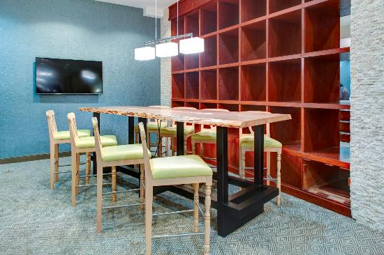 Communal and social space extends options to meet with