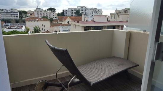 Junior Suite balcony off living room