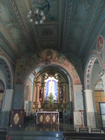Matriz Nossa Senhora do Carmo: Altar da Igreja matriz de Jarinu