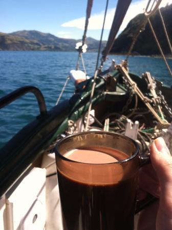 Fox II : Hot chocolate and sailing :)