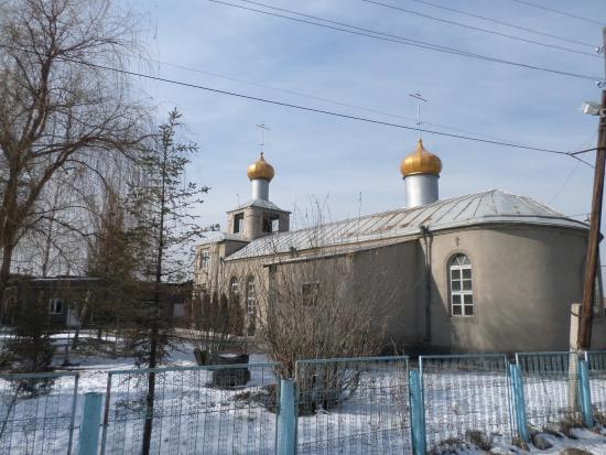 """The Temple in Honour of Icon of """"All the Afflicted"""""""