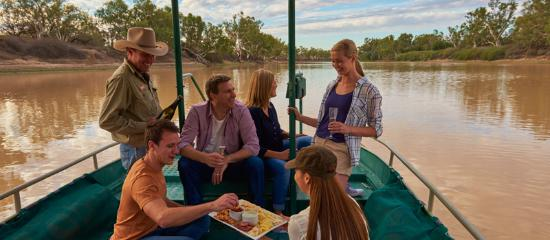Coober Pedy, Australia: Innamincka River Cruise