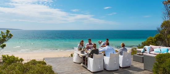 South Australia, Australien: Dine on the Blue Line, Browns Beach
