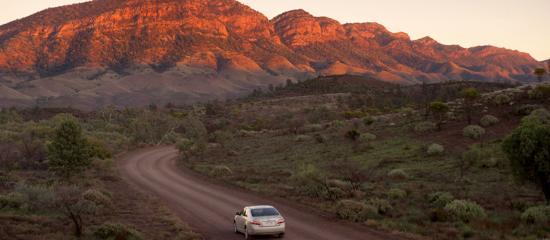 Flinders Ranges, Australien: Drive to Bunyeroo Valley